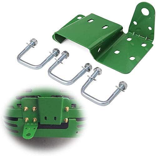 Hydraker Green Original Mowers Rear Hitch Fit for John Deere EZ Trak/Zero Turn Mowers Z225 Z245 Z425 Z435 Z445