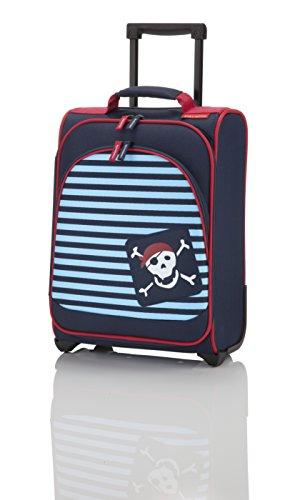 Travelite Kindertrolley 22 Liter & Boardtasche 14 Liter in verschiedenen Farben / Motiven (Pirat)
