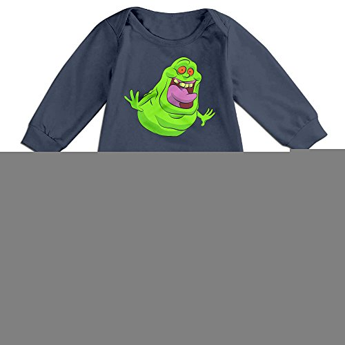 JACOBO Cute Ghostbusters Slimer Outfits For Infant Navy Size 6 M (2)