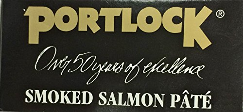 3.5oz Portlock Smoked Salmon Pate, Pack of 2 by Portlock