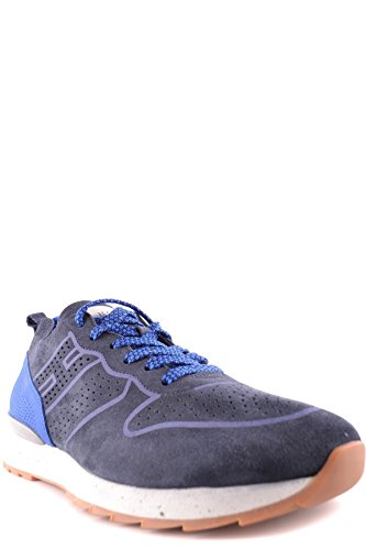 Hogan Men's MCBI148408O Blue Suede Sneakers fake for sale how much online clearance visit new cheap price factory outlet 42ofm