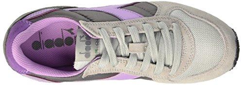 Diadora K-Run W, Sneaker Basses Femme, Gris 75040 - GRIS ALUMINIUM