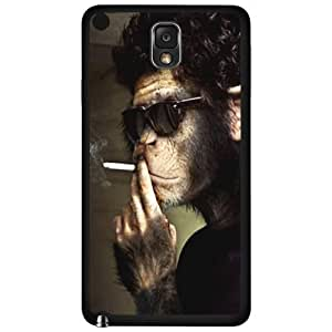 Cool Smoking Monkey Wearing Shades Hard Snap on Phone Case (Note 3 III)