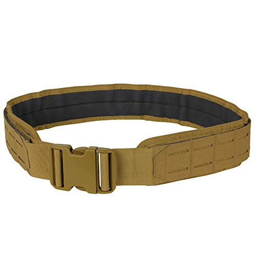 Condor LCS Tactical Gun Belt, Brown, Small