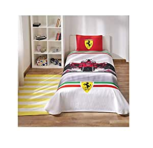 Ferrari Bedding Cover Set Formula 1 Collection
