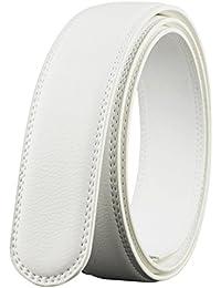 Men's Leather Ratchet Belt Multiple Colour Without Buckle