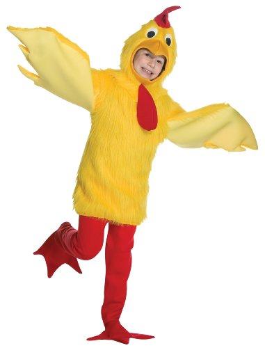 Rasta Imposta Childrens Costume, Fuzzy Chicken, 7-10