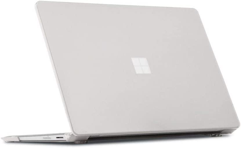 mCover Hard Shell Case for New Late-2020 12.4-inch Microsoft Surface Laptop Go with Touch Screen (NOT Compatible w/Surface Laptop 3/2 / 1 Models, Surface Book and Tablet) - MS-SFLGo-12 (Clear)