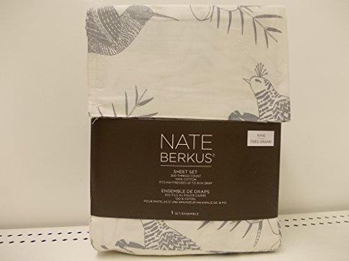 Nate Berkus Sheet Set Floral Bird King