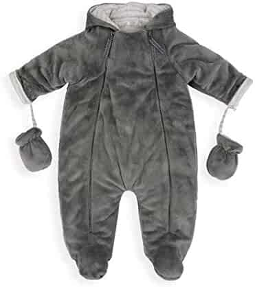 5f0a79d21c7c1 NIKE Infant/Toddler Sportswear Convertible Snowsuit Jacket Navy Blue/White.  seller: HappyShoppingPlanet. (0). The Essential One - Baby Unisex Grey  Snowsuit ...