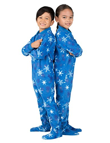 2a08a65455 Jual Footed Pajamas - - Its A Snow Day Toddler Fleece Onesie ...