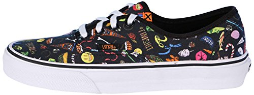 Vans Unisex Authentic (truth) Zapatillas De Skate-truth / Black-7-Mujer / 5.5-Hombres