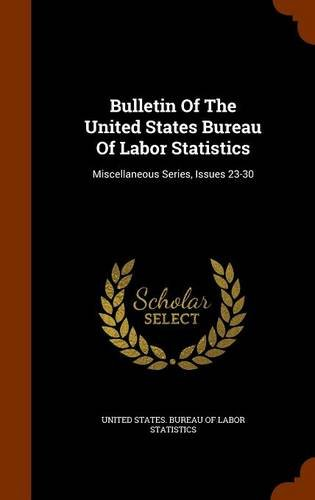 Bulletin Of The United States Bureau Of Labor Statistics: Miscellaneous Series, Issues 23-30 ebook