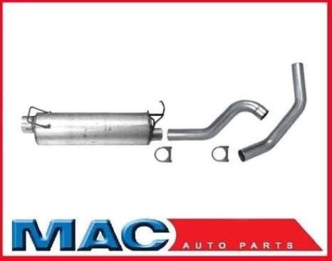 Mac de auto partes 42152 Silenciador y tubo de escape 3 550 para Dodge Ram 25 35 5.9l Cummins Diesel: Amazon.es: Coche y moto