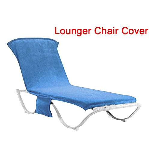 Sun Lounger Cushion, Waterproof Replacement Recliner Lounge Thick Pad Chairs Lounge Outdoor Garden Relaxer Cushion Seating Cover by Carole4