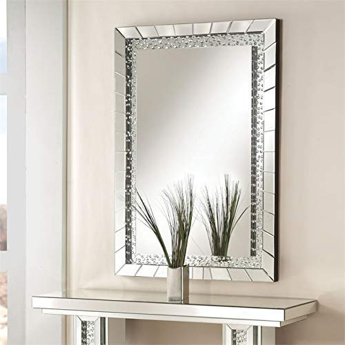 Acme Furniture 97386 Nysa Accent Wall Mirror by Acme Furniture (Image #3)