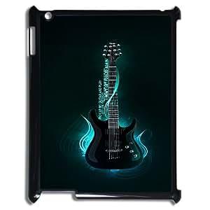 FOR Ipad 2/3/4 Case -(DXJ PHONE CASE)-Love Guitar,Love Music-PATTERN 15