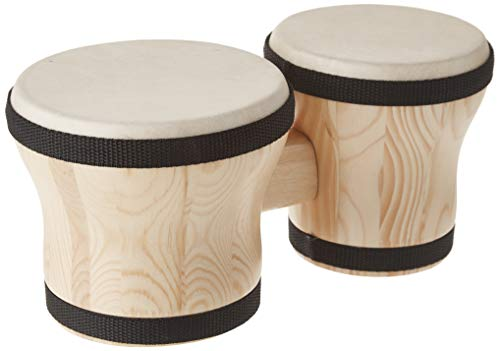 Rhythm Band Bongos Junior 6 in. H x 5 in. and 4-1/4 in. Dia