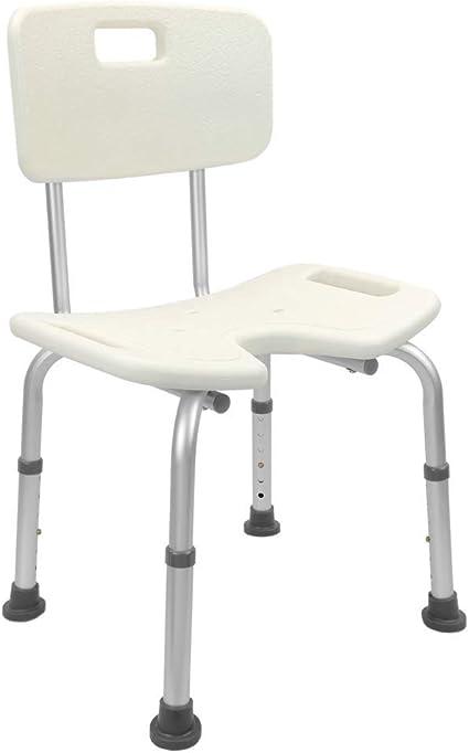 Sedia da doccia regolabile in altezza con braccioli per anziani PrimeMatik