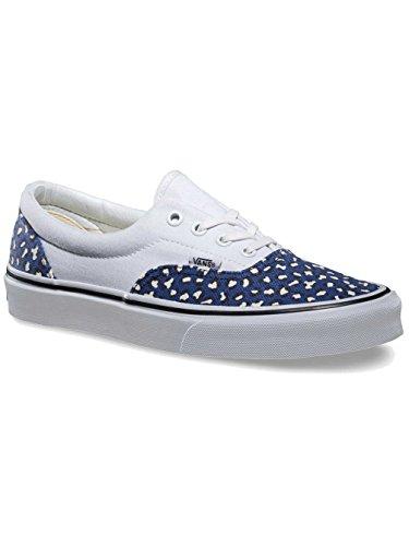 Scarpa Da Skate Di Epoca Era - Donna (leopardo A Spina Di Pesce) Twilight Blue, 9.0