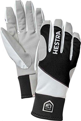 Hestra Comfort Tracker 5-Finger Gloves,Black/Off (Tracker Cross Country Skis)