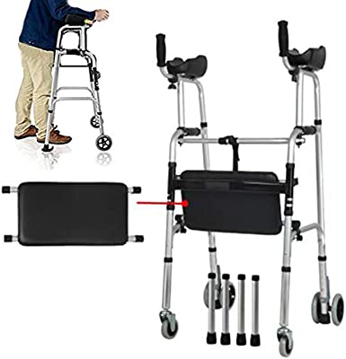 Andadores estándar, andadores plegables compactos, entrenador de ...