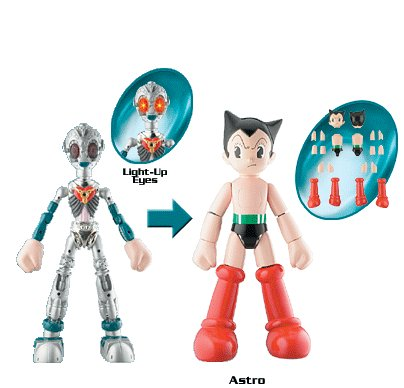 Astro Boy Toy (Build Your Own ASTRO BOY W/Light-Up Eyes 8