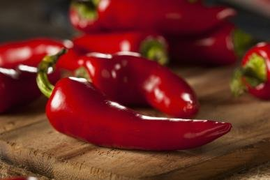 David's Garden Seeds Pepper Chili Fresno DGS1996 (Red) 50 Organic Heirloom Seeds