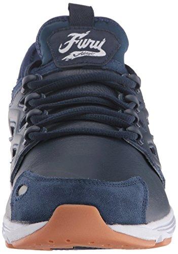 Zapatillas Reebok Hombre Fury Adapt W Fashion Sneaker Collegiate Navy / Blanco / Calo