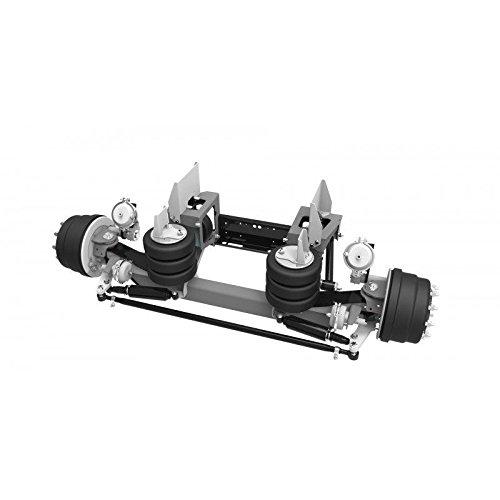 LINK Manufacturing LTD - 13,500 Lb Link Mfg Steerable Lift Axle Air Control Kit Truck Mount Hub Pilot
