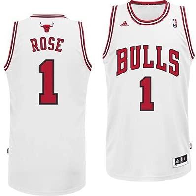 Adidas - Camiseta de baloncesto de Derrick Rose de los ...