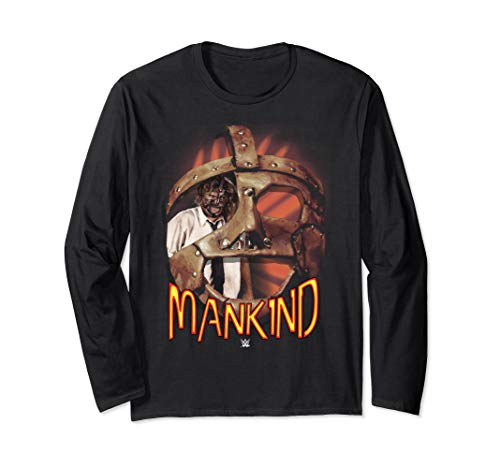 WWE Mankind Mask  Long Sleeve T-Shirt -