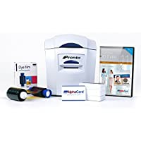 Magicard Pronto Photo ID Card Printer System with Magnetic Encoding & AlphaCard ID Suite Software--Includes AlphaCard Membership Card