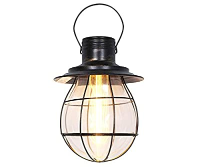 Battery Operated Industrial Pendant Lantern