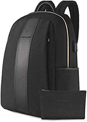 KROSER Laptop Backpack 15.6 Inch Stylish Computer School Casual Daypack Bag...