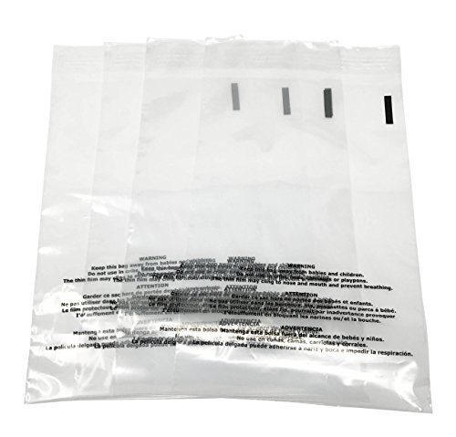 Shop4Mailers 7.5 x 10.5 Suffocation Warning Clear Plastic Self Seal Poly Bags 1.5 Mil (1000 Pack) by Shop4Ever (Image #5)