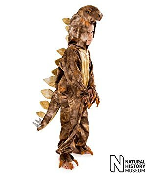 Natural History Museum Stegosaurus Fancy Dress Costume (Official Licensed) 5 - 7 years by Pretend to Bee - Stegosaurus Costume