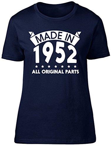 Shopagift - Camiseta - Mujer azul marino