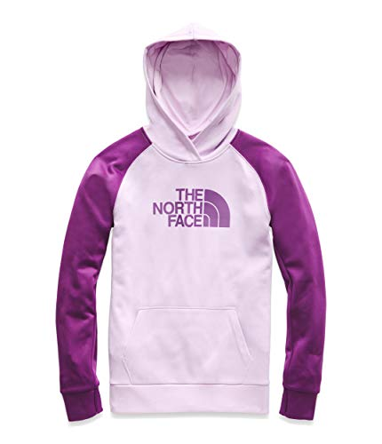 The North Face Women's Fave Half Dome Pullover 2.0, Orchid Bouquet Heather/Phlox Purple, Size XS