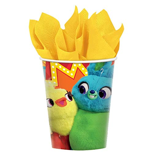 """amscan Toy Story 4"""" Multicolor Party Paper Cups 9 Oz, 8 Ct."""