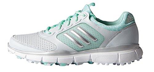 adidas W Adistar-Schuhe Sport Golf für Damen Grau / Weiß / Grün