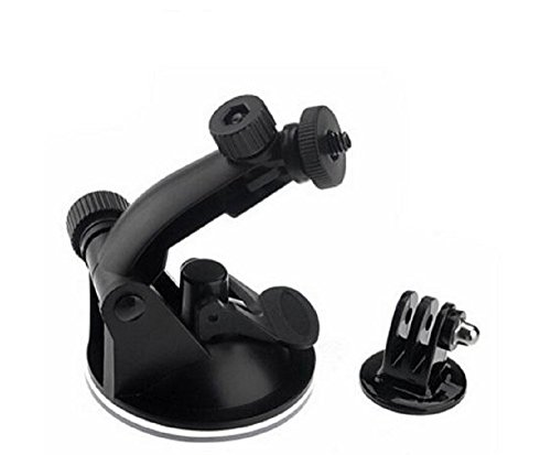 Action Camera Car Suction Cup Windscreen And Dash Cam Tripod