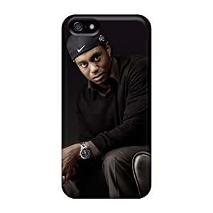 Hot Design Premium PXa2385VMgb Tpu Case Cover Iphone 5/5s Protection Case(tiger Woods)