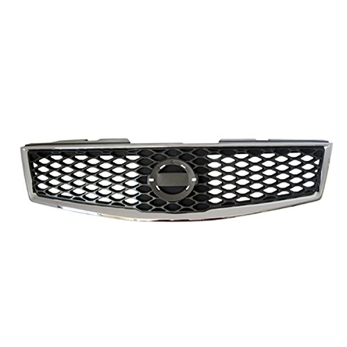 2007 Nissan Sentra Grille - Gray Front Grille Assembly for 2009-2012 Nissan Sentra NI1200235