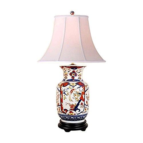 Chinese Porcelain Vase Floral Imari Motif Table Lamp 30