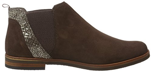 Ankle Brwn Sue Women's Brown Caprice Co Dk 25301 Boots 345 qw0YB0xE4