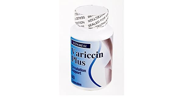 Amazon.com: Vitameal Varices Varicose Vains Variccin Plus - Circulation Support by Life With Vitamins: Health & Personal Care
