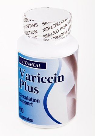 Vitameal Varices Varicose Vains Variccin Plus - Circulation Support by Life With Vitamins