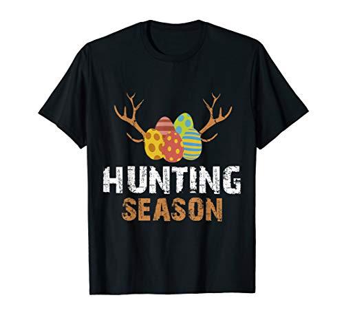 Hunting Season Egg Hunt Happy Easter Kids Boys Girls T Shirt]()