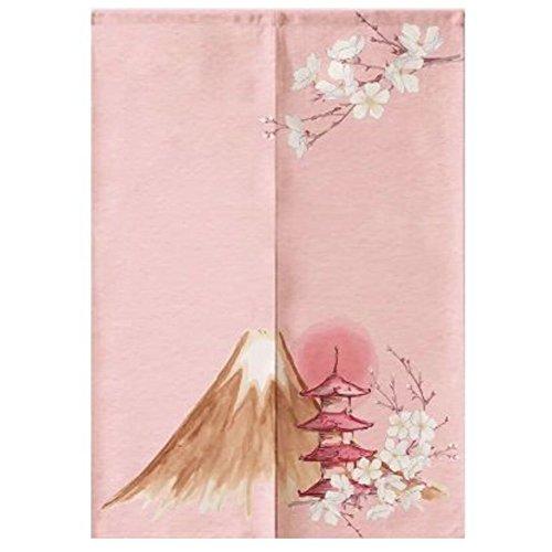 LUNA Sushi Bar Decoration Japanese Curtains Door Hallway Hanging Curtains (A1) -